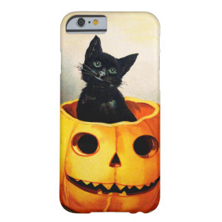 Ellen H. Clapsaddle: Black Cat in Jack O'Lantern Barely There iPhone 6 Case