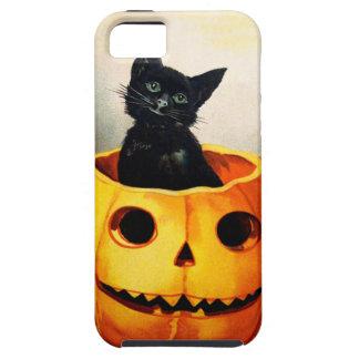 Ellen H. Clapsaddle: Black Cat in Jack O'Lantern Tough iPhone 5 Case