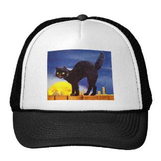 Ellen H. Clapsaddle: Black Cat on a Fence Cap