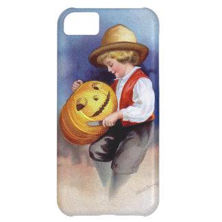 Ellen H. Clapsaddle: Boy with Jack O'Lantern 2 Case For iPhone 5C