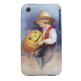 Ellen H. Clapsaddle: Boy with Jack O'Lantern 2 iPhone 3 Covers