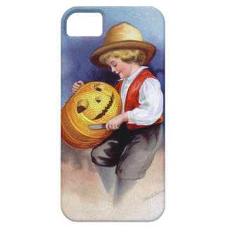 Ellen H. Clapsaddle: Boy with Jack O'Lantern 2 iPhone 5 Cases