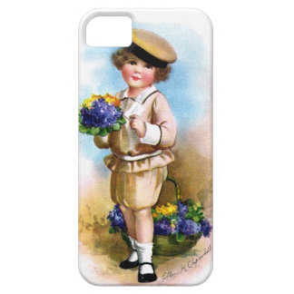 Ellen H. Clapsaddle: Child with Forget-me-not iPhone 5 Cover