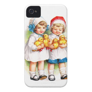 Ellen H. Clapsaddle: Children with Ducklings iPhone 4 Cases