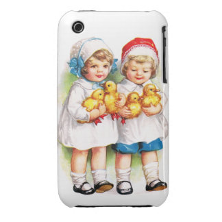 Ellen H. Clapsaddle: Children with Ducklings Case-Mate iPhone 3 Case