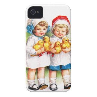 Ellen H. Clapsaddle: Children with Ducklings iPhone 4 Case-Mate Case