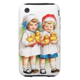 Ellen H. Clapsaddle: Children with Ducklings Tough iPhone 3 Covers