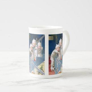 Ellen H. Clapsaddle: Christmas Cheer Bone China Mug