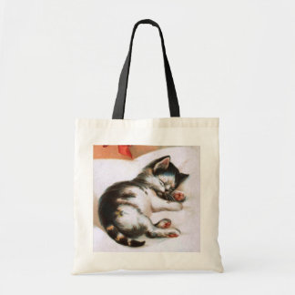 Ellen H. Clapsaddle: Christmas Kitten Tote Bags