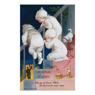 Ellen H. Clapsaddle: Christmas Toddlers Posters