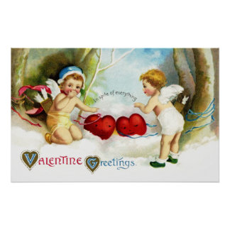 Ellen H. Clapsaddle: Cupids at Work Poster