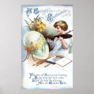 Ellen H. Clapsaddle: Easter Egg 1 Poster
