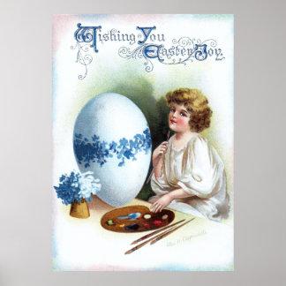 Ellen H. Clapsaddle: Easter Egg 3 Poster
