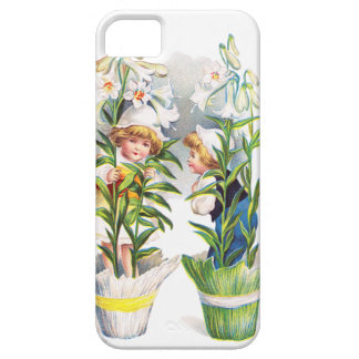 Ellen H. Clapsaddle: Easter Flower Children Case For The iPhone 5