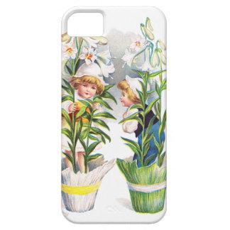 Ellen H. Clapsaddle: Easter Flower Children iPhone 5 Case