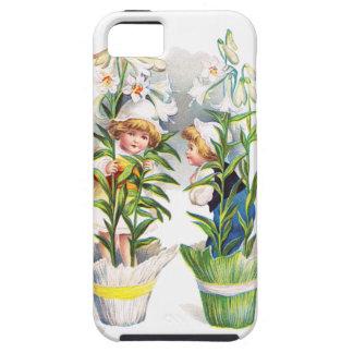 Ellen H. Clapsaddle: Easter Flower Children iPhone 5 Cover