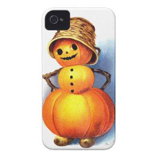 Ellen H. Clapsaddle: Funny Pumpkin Character Case-Mate iPhone 4 Cases
