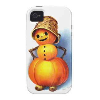 Ellen H. Clapsaddle: Funny Pumpkin Character iPhone 4 Case