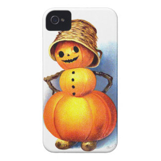 Ellen H. Clapsaddle: Funny Pumpkin Character iPhone 4 Covers