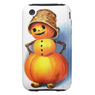 Ellen H. Clapsaddle: Funny Pumpkin Character Tough iPhone 3 Cases