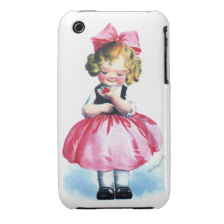 Ellen H. Clapsaddle: Girl with Heart iPhone 3 Cover