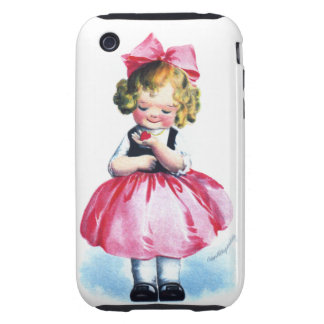 Ellen H. Clapsaddle: Girl with Heart iPhone 3 Tough Cover