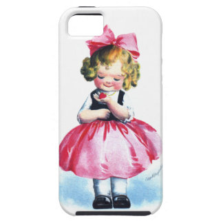 Ellen H. Clapsaddle: Girl with Heart iPhone 5 Covers