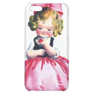 Ellen H. Clapsaddle: Girl with Heart iPhone 5C Covers