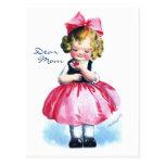Ellen H. Clapsaddle: Girl with Heart Postcard