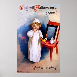 Ellen H. Clapsaddle: Halloween Night Print