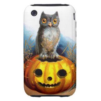 Ellen H. Clapsaddle: Halloween Owl iPhone 3 Tough Cases