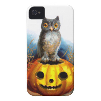 Ellen H. Clapsaddle: Halloween Owl iPhone 4 Case