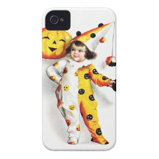Ellen H. Clapsaddle: Little Halloween Harlequin iPhone 4 Case-Mate Cases