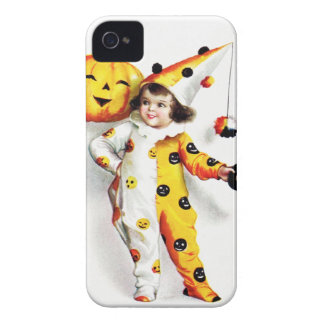 Ellen H. Clapsaddle: Little Halloween Harlequin Case-Mate iPhone 4 Case