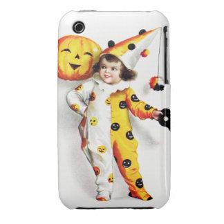 Ellen H. Clapsaddle: Little Halloween Harlequin iPhone 3 Case-Mate Case