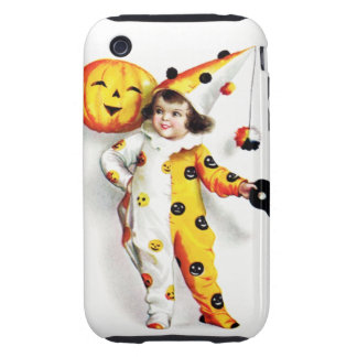 Ellen H. Clapsaddle: Little Halloween Harlequin Tough iPhone 3 Covers
