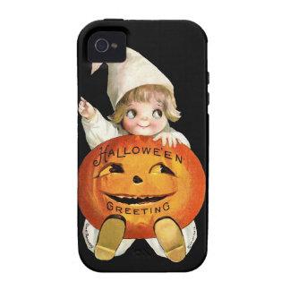 Ellen H. Clapsaddle: Little Pumpkin Boy Vibe iPhone 4 Cases