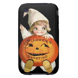Ellen H. Clapsaddle: Little Pumpkin Boy iPhone 3 Tough Case