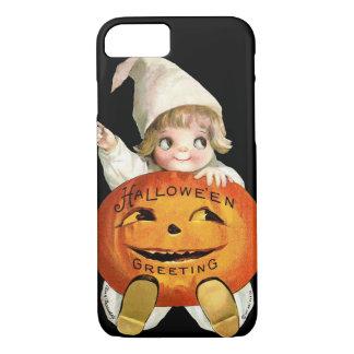 Ellen H. Clapsaddle: Little Pumpkin Boy iPhone 7 Case