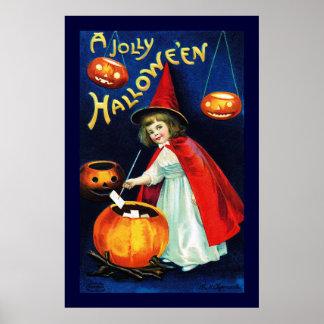 Ellen H. Clapsaddle: Little Witch Posters