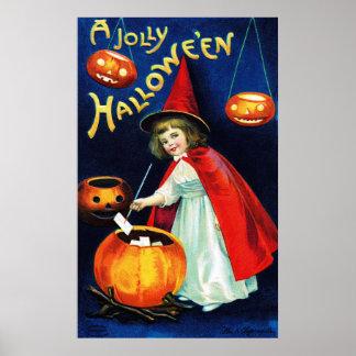 Ellen H. Clapsaddle: Little Witch Poster
