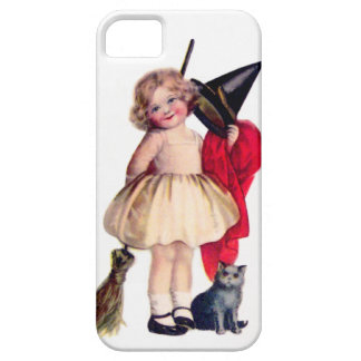 Ellen H. Clapsaddle: Little Witch with Cat Barely There iPhone 5 Case