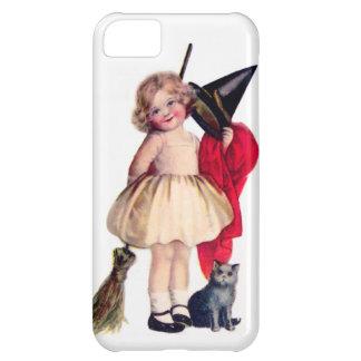 Ellen H. Clapsaddle: Little Witch with Cat iPhone 5C Case