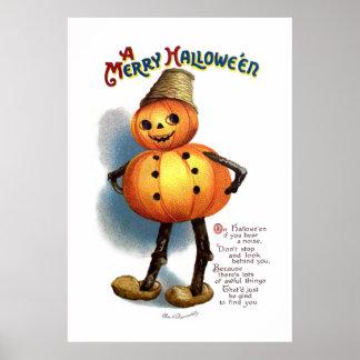 Ellen H. Clapsaddle: Pumpkin Boy Poster