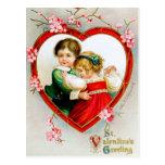Ellen H. Clapsaddle: Secret in my Heart Post Card