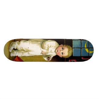 Ellen H. Clapsaddle: Spooky Halloween Skateboard