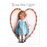 Ellen H. Clapsaddle: To The One I Love Postcards