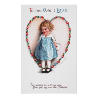 Ellen H. Clapsaddle: To The One I Love Print