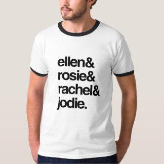 Ellen Rosie Rachel and Jodie Tee Shirt