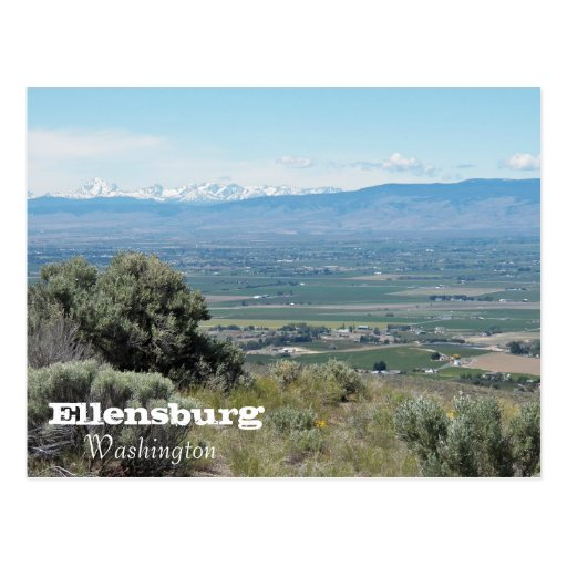 Ellensburg, Washington Post Cards